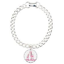 LIttle Sister Pink Giraf Bracelet