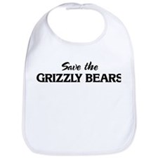Save the GRIZZLY BEARS Bib
