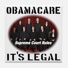 Obamacare Its Legal Tile Coaster