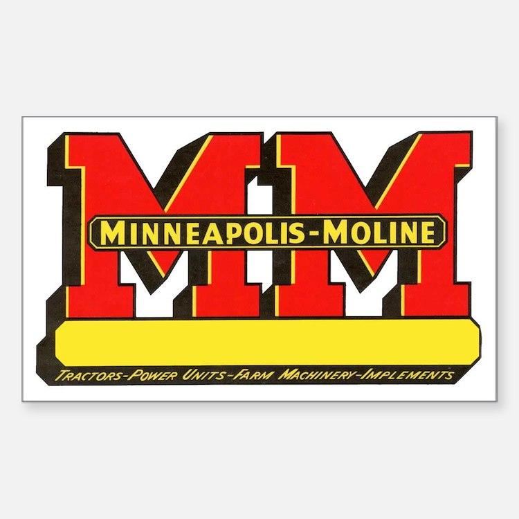 Minneapolis Moline Decals : Minneapolis moline bumper stickers car decals