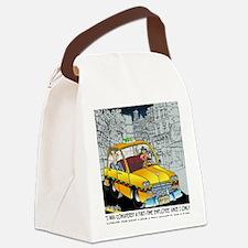 Reindeer Cabbie Canvas Lunch Bag
