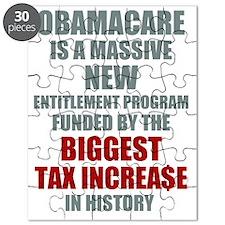 Obamacare Biggest Tax Increase Puzzle
