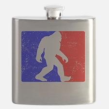 Major League Squatchin Flask