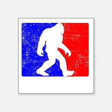 "Major League Squatchin Square Sticker 3"" x 3"""