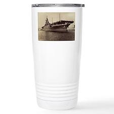 uss lake champlain cv large fra Travel Mug