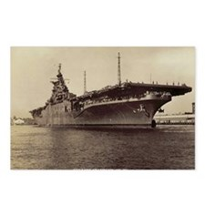 uss lake champlain cv lar Postcards (Package of 8)