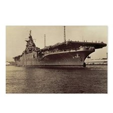 USS Lake Champlain cv cal Postcards (Package of 8)