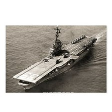 uss lake champlain cvs la Postcards (Package of 8)