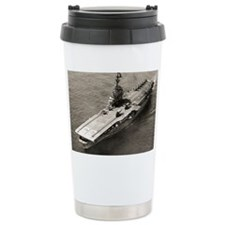 uss lake champlain cvs framed p Travel Mug