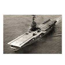 uss lake champlain cvs fr Postcards (Package of 8)