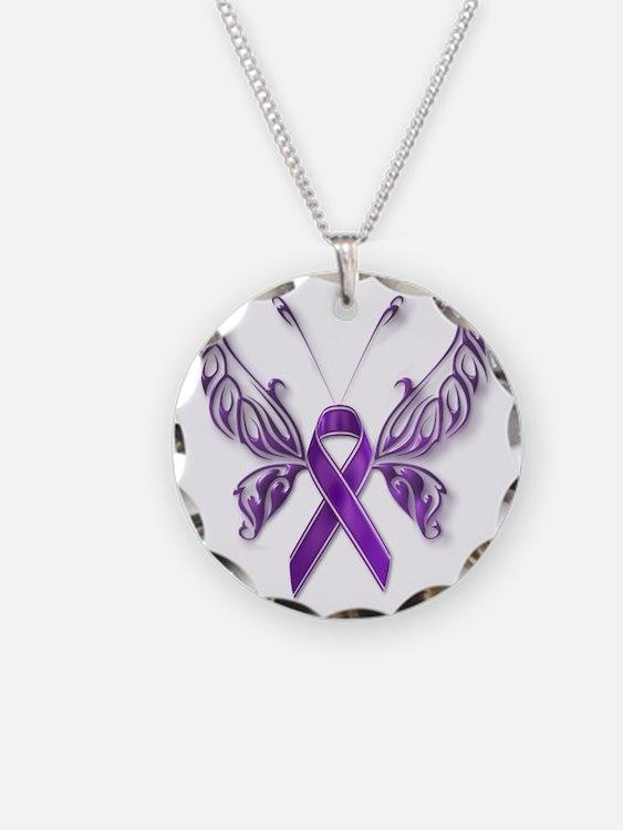Epilepsy Butterfly Necklace