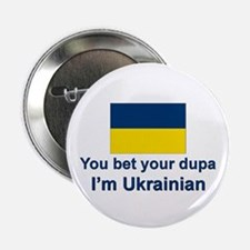"Ukrainian Dupa 2.25"" Button (10 pack)"