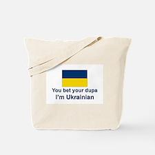 Ukrainian Dupa Tote Bag