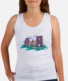 Large Easter Vacation Tank Top