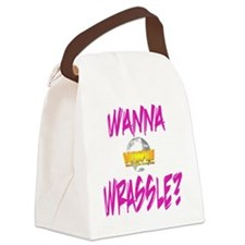 World Wide Wrestling Ladies Night Canvas Lunch Bag