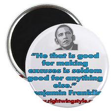 Benjamin Franklin Quote Magnet
