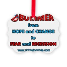 Obummer Fear and Recession Ornament