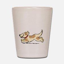 Dog Gate Open Shot Glass