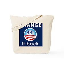 Change It Back Tote Bag