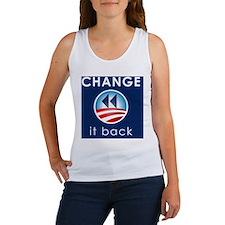 Change It Back Women's Tank Top