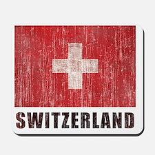 Vintage Switzerland. Mousepad