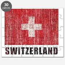 Vintage Switzerland. Puzzle