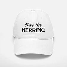 Save the HERRING Baseball Baseball Cap