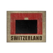 Vintage Switzerland Picture Frame