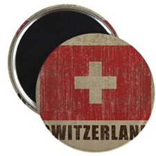 Vintage Switzerland Magnet