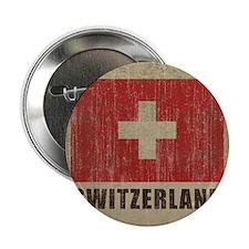 """Vintage Switzerland 2.25"""" Button"""