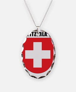 Switzerland Coat Of Arms Necklace