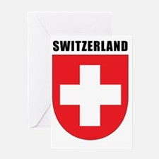 Switzerland Coat Of Arms Greeting Card