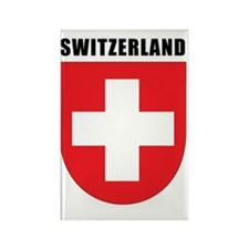 Switzerland Coat Of Arms Rectangle Magnet