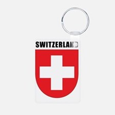 Switzerland Coat Of Arms Keychains