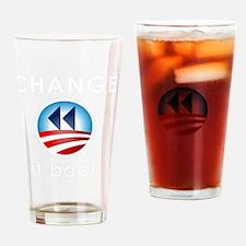 Change It Back Drinking Glass