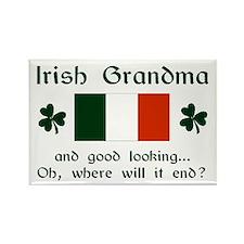 Gd Lkg Irish Grandma Rectangle Magnet