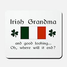 Gd Lkg Irish Grandma Mousepad