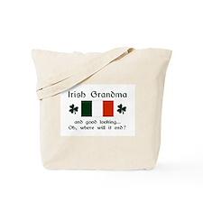 Gd Lkg Irish Grandma Tote Bag