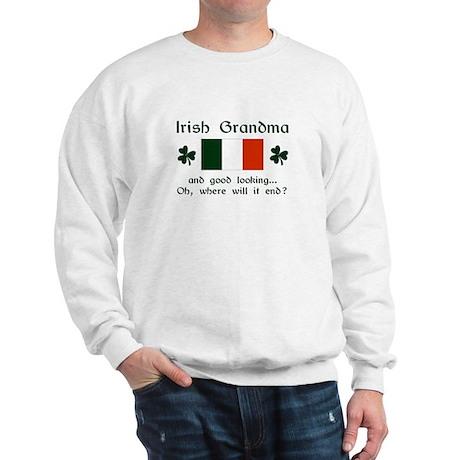 Gd Lkg Irish Grandma Sweatshirt