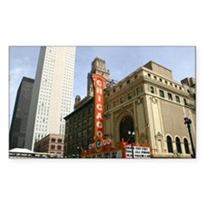 CHICAGO THEATRE BUILDING Decal