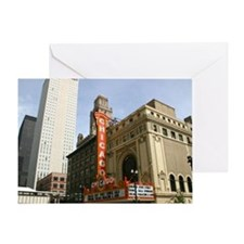 CHICAGO THEATRE BUILDING Greeting Card