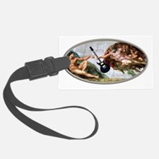 god gave rock and roll to you Luggage Tag