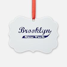 Brooklyn Blue Ornament