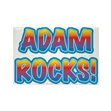adam rocks! Rectangle Magnet