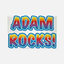 adam rocks! Rectangle Magnet