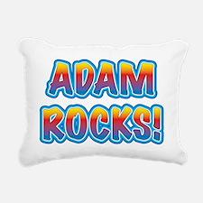 adam rocks! Rectangular Canvas Pillow