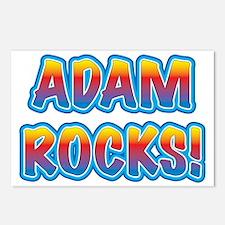 adam rocks! Postcards (Package of 8)