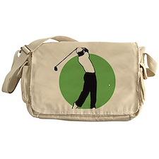 golf player Messenger Bag
