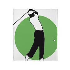 golf player Throw Blanket