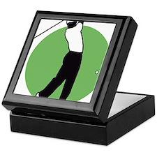 golf player Keepsake Box